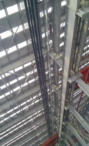屋面多套系统悬吊支点安装方案